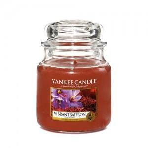 Lumanare Parfumata Borcan Mediu Vibrant Saffron, Yankee Candle