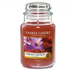 Lumanare Parfumata Borcan Mare Vibrant Saffron, Yankee Candle