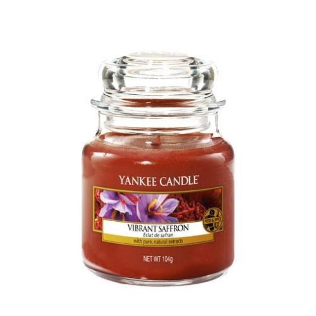 Lumanare Parfumata Borcan Mic Vibrant Saffron, Yankee Candle