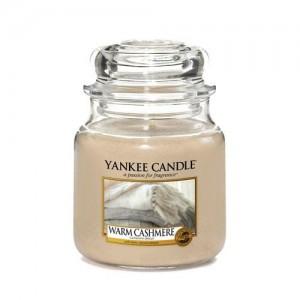 Lumanare Parfumata Borcan Mediu Warm Cashmere, Yankee Candle