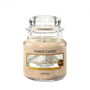 Lumanare Parfumata Borcan Mic Warm Cashmere, Yankee Candle