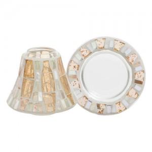 Accesoriu Borcan Mic Gold Wave Mosaic, Yankee Candle