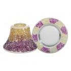 Accesoriu Borcan Mare/Mediu Purple & Gold Crackle, Yankee Candle