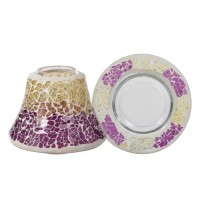 Accesoriu Borcan Mic Purple & Gold Crackle, Yankee Candle