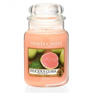 Lumanare Parfumata Borcan Mare Delicious Guava, Yankee Candle