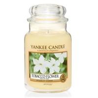 Lumanare Parfumata Borcan Mare Tobacco Flower, Yankee Candle