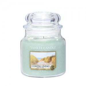 Lumanare Parfumata Borcan Mediu Coastal Living, Yankee Candle