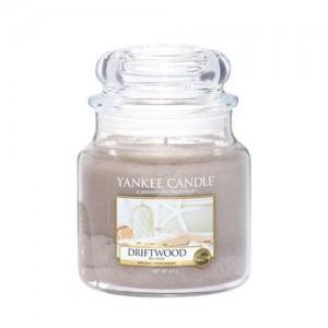 Lumanare Parfumata Borcan Mediu Driftwood, Yankee Candle