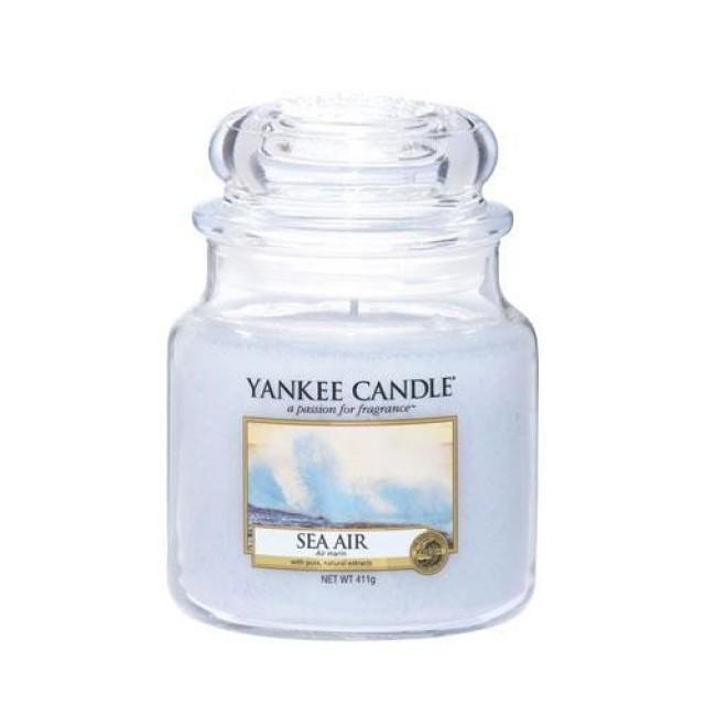 Lumanare Parfumata Borcan Mediu Sea Air, Yankee Candle