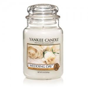 Lumanare Parfumata Borcan Mare Wedding Day, Yankee Candle