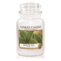 Lumanare Parfumata Borcan Mare White Tea, Yankee Candle