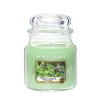 Lumanare Parfumata Borcan Mediu Wild Mint, Yankee Candle