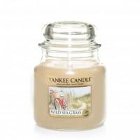 Lumanare Parfumata Borcan Mediu Wild Sea Grass, Yankee Candle