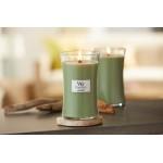 Lumanare Parfumata Borcan Mediu White Willow Moss, WoodWick®