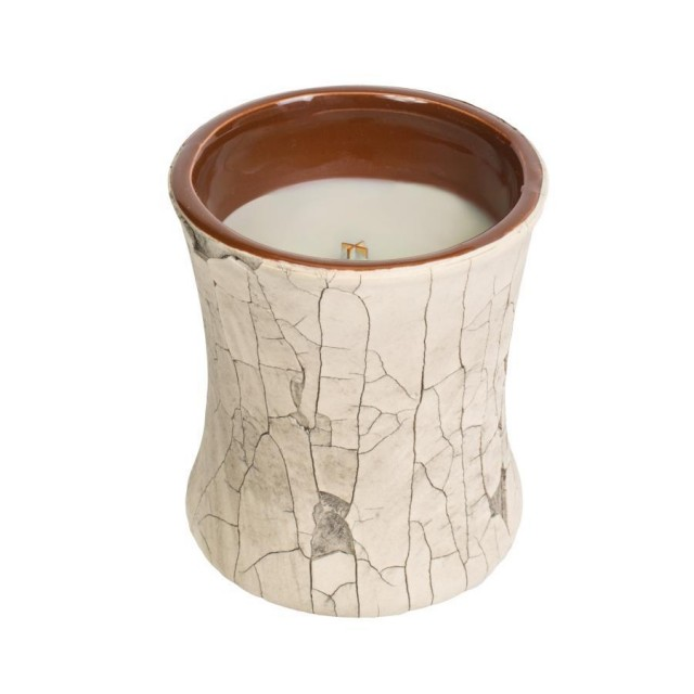 Lumanare Parfumata Borcan Mediu Fireside, Fireplace Collection, WoodWick®