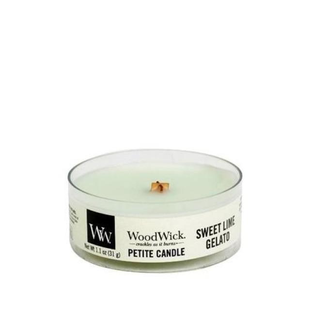 Lumanare Parfumata Petite Sweet Lime Gelato, WoodWick®