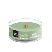 Lumanare Parfumata Petite White Willow Moss, WoodWick®