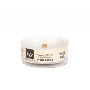 Lumanare Parfumata Petite Warm Wool, WoodWick®
