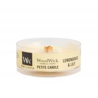 Lumanare Parfumata Petite Lemongrass & Lily, WoodWick®