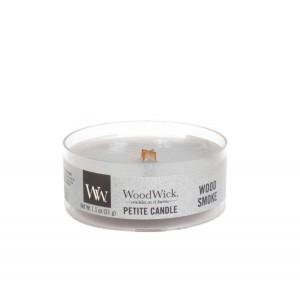Lumanare Parfumata Petite Wood Smoke, WoodWick®
