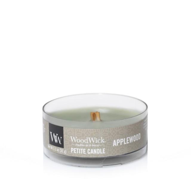 Lumanare Parfumata Petite Applewood, WoodWick®