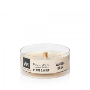 Lumanare Parfumata Petite Vanilla Bean, WoodWick®