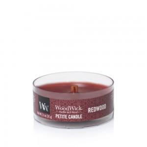Lumanare Parfumata Petite Redwood, WoodWick®