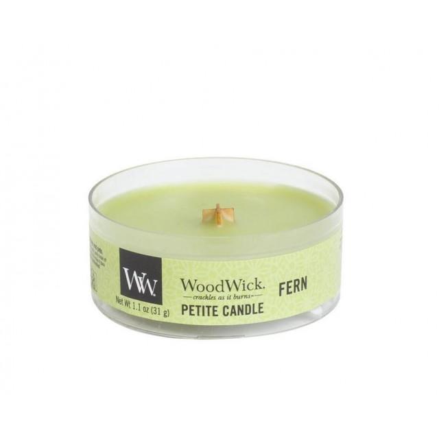 Lumanare Parfumata Petite Fern, WoodWick®