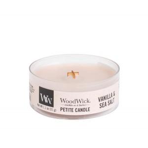 Lumanare Parfumata Votive Vanilla Sea Salt, WoodWick®