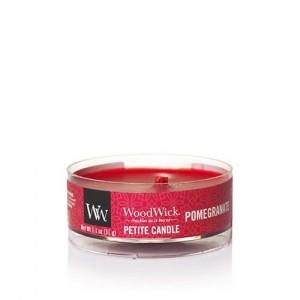 Lumanare Parfumata Petite Pomegranate, WoodWick®