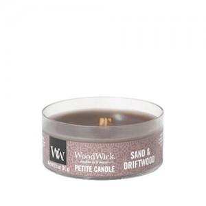 Lumanare Parfumata Petite Sand & Driftwood, WoodWick®