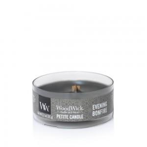 Lumanare Parfumata Petite Evening Bonfire, WoodWick®