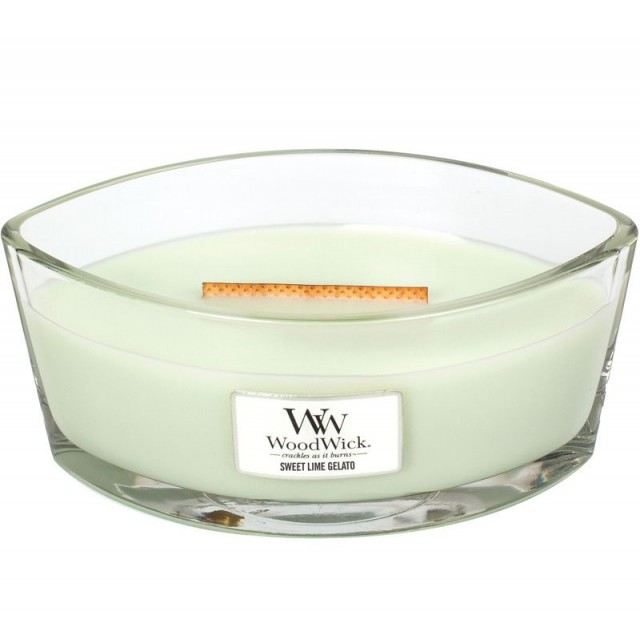 Lumanare Parfumata Ellipse Sweet Lime Gelato, WoodWick®