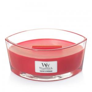 Lumanare Parfumata Ellipse Radish & Rhubarb, WoodWick®