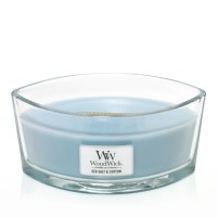 Lumanare Parfumata Ellipse Sea Salt & Cotton, WoodWick®