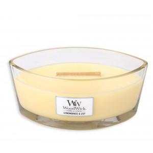 Lumanare Parfumata Ellipse Lemongrass & Lily, WoodWick®