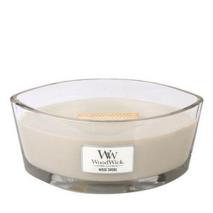 Lumanare Parfumata Ellipse Wood Smoke, WoodWick®