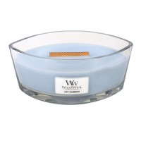 Lumanare Parfumata Ellipse Soft Chambray, WoodWick®