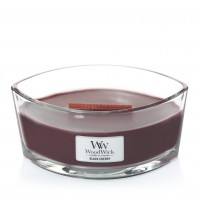 Lumanare Parfumata Ellipse Black Cherry, WoodWick®
