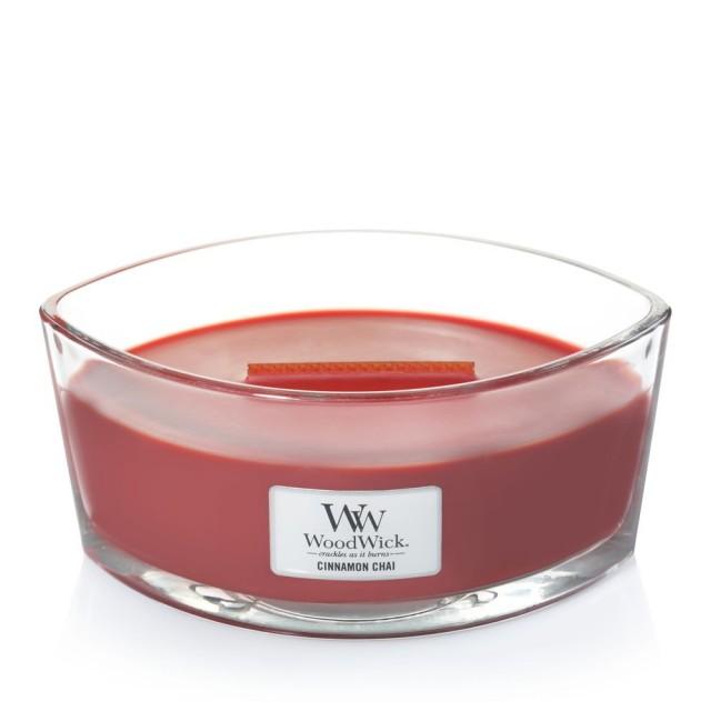 Lumanare Parfumata Ellipse Cinnamon Chai, WoodWick®