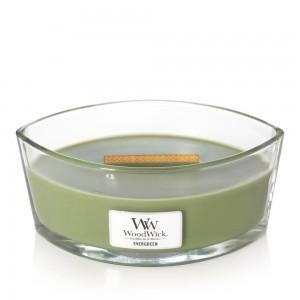 Lumanare Parfumata Ellipse Evergreen, WoodWick®