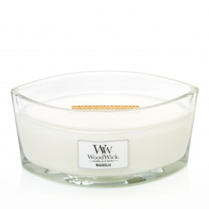 Lumanare Parfumata Ellipse Magnolia, WoodWick®