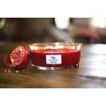 Lumanare Parfumata Ellipse Pomegranate, WoodWick®