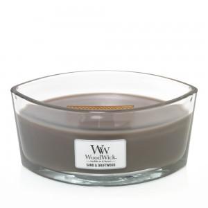 Lumanare Parfumata Ellipse Sand & Driftwood, WoodWick®