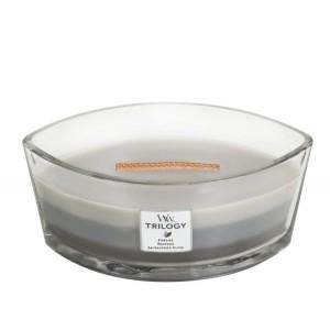 Lumanare Parfumata Ellipse Trilogy Warm Woods, WoodWick®
