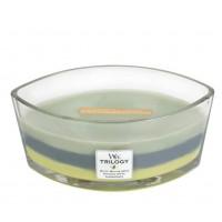 Lumanare Parfumata Ellipse Trilogy Woodland Shade, WoodWick®