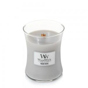 Lumanare Parfumata Borcan Mediu Warm Wool, WoodWick®