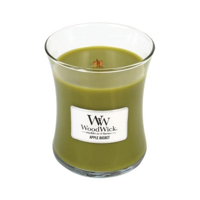 Lumanare Parfumata Borcan Mediu Apple Basket, WoodWick®