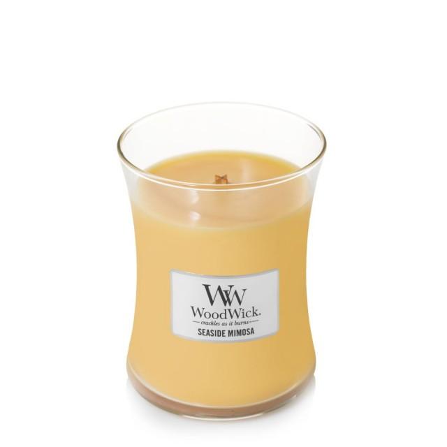 Lumanare Parfumata Borcan Mediu Seaside Mimosa, WoodWick®