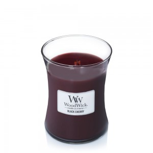 Lumanare Parfumata Borcan Mediu Black Cherry, WoodWick®